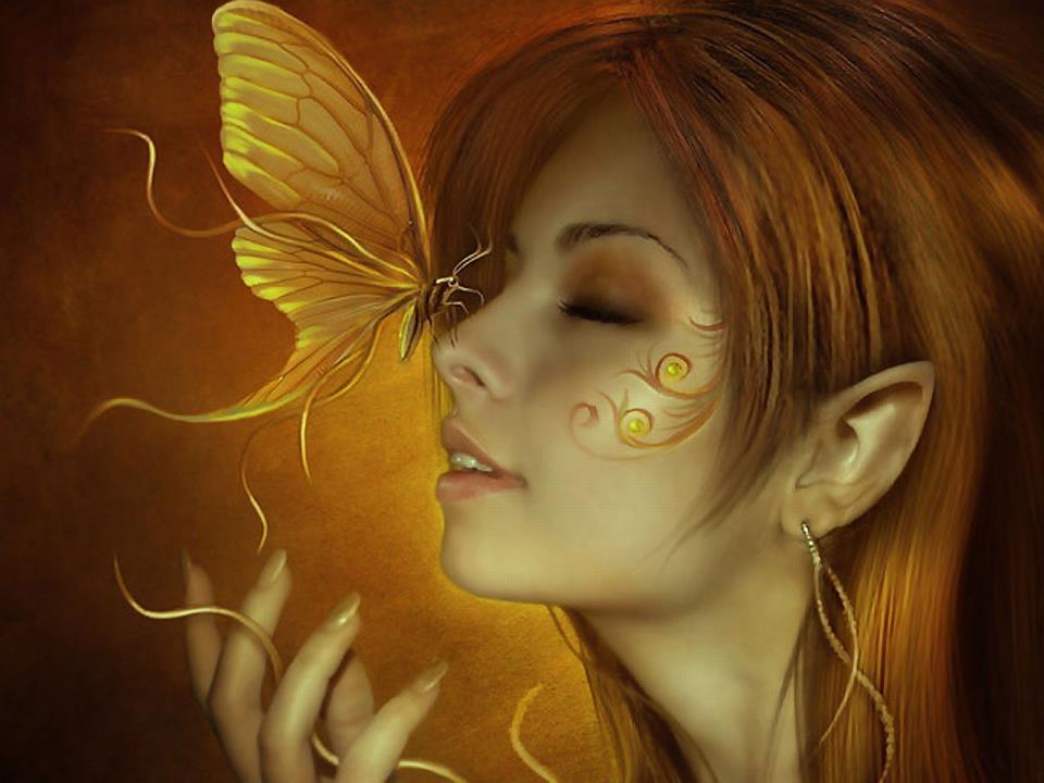butterfly-gold faey