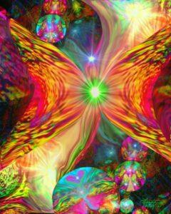 butterfly-psycadelic