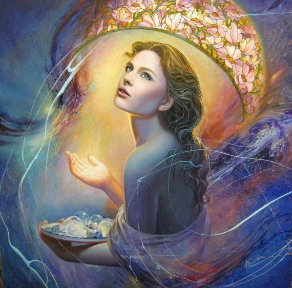 goddess-wonder artist Christiane Vleugels