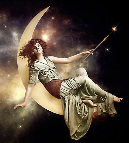 moon-goddess-sparkle artist Pat Brennan Starmaker